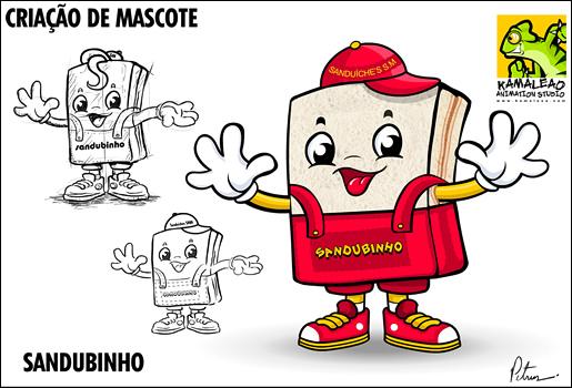 Qual a diferença entre Mascote e Personagem